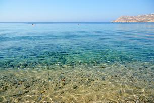 ミコノス島 エリアビーチの写真素材 [FYI03118582]
