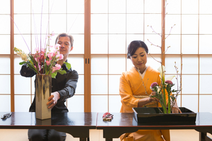 京都「和文化体験」の写真素材 [FYI03118618]
