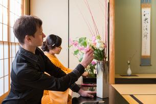 京都「和文化体験」の写真素材 [FYI03118623]