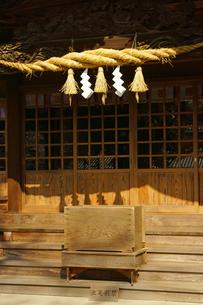 春の健軍神社の写真素材 [FYI03118724]