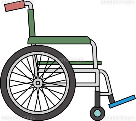 車椅子のイラスト素材 [FYI03119298]