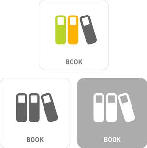 Book Pictogram Iconsのイラスト素材 [FYI03119529]