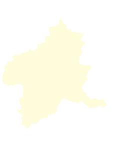 都道府県ポリゴン地図EPS群馬県(境界無)のイラスト素材 [FYI03119531]