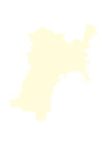 都道府県ポリゴン地図EPS宮城県(境界無)のイラスト素材 [FYI03119532]