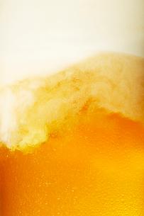 ビールのアップの写真素材 [FYI03119554]