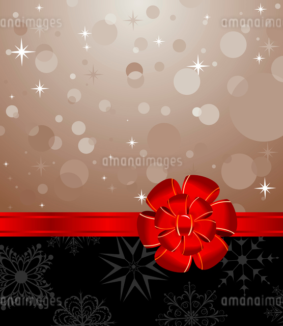 Illustration Christmas background with set balls for holiday design - vectorのイラスト素材 [FYI03119676]