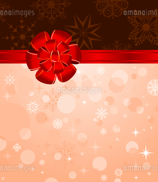 Illustration Christmas background with set balls for holiday design - vectorのイラスト素材 [FYI03119682]