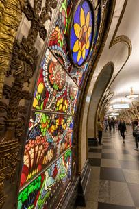 モスクワ地下鉄駅の写真素材 [FYI03119921]