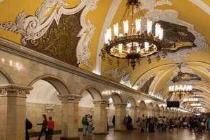 モスクワ地下鉄駅の写真素材 [FYI03119924]
