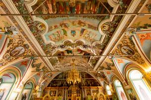 大食堂教会 内部の写真素材 [FYI03119967]