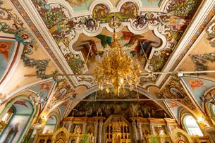 大食堂教会 内部の写真素材 [FYI03119968]