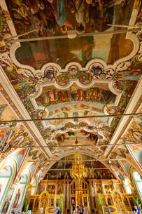 大食堂教会 内部の写真素材 [FYI03119969]
