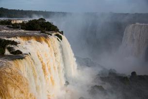 世界最大イグアスの滝(ブラジル側)の写真素材 [FYI03120029]