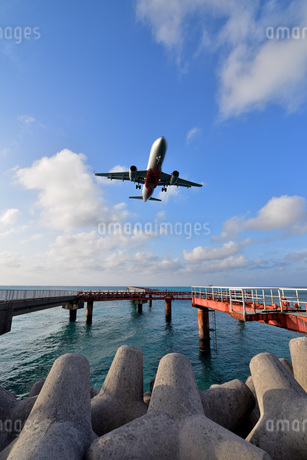 宮古島/下地島空港17エンドの写真素材 [FYI03120055]