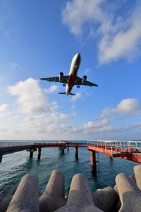 宮古島/下地島空港17エンドの写真素材 [FYI03120056]
