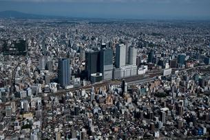 空撮 名古屋駅方面より 東山方面の写真素材 [FYI03120085]