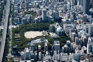 空撮 名古屋市科学館の写真素材 [FYI03120093]