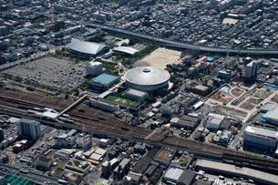 空撮 名古屋市総合体育館 日本ガイシホールの写真素材 [FYI03120097]