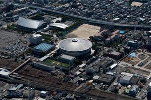 空撮 名古屋市総合体育館 ガイシホールの写真素材 [FYI03120098]
