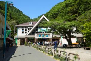 高尾山・清滝駅(ケーブルカー)の写真素材 [FYI03120146]