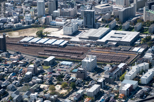 空撮 名古屋市交通局 藤が丘工場の写真素材 [FYI03120209]