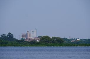 多摩川河岸の風景の写真素材 [FYI03120349]