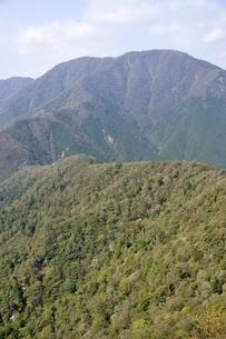 山梨百名山 大室山の写真素材 [FYI03120642]