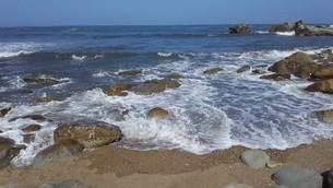 犬吠埼の海の写真素材 [FYI03120722]