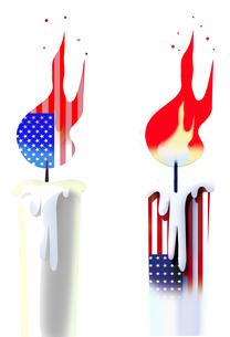 アメリカの衰退のイラスト素材 [FYI03120840]