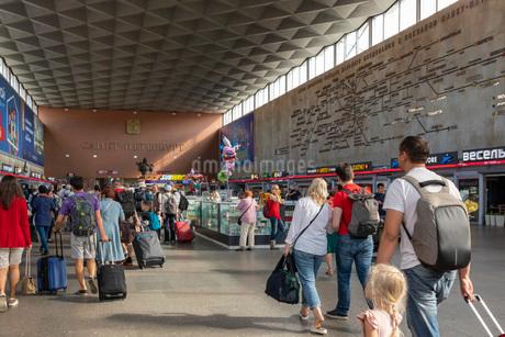 サンクトペテルブルグ駅の写真素材 [FYI03120922]