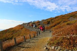 秋の那須登山の写真素材 [FYI03121046]