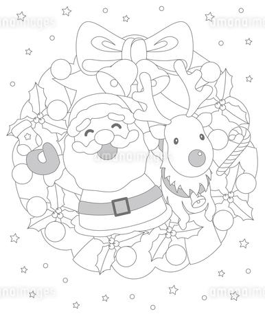 クリスマスのイラスト素材 [FYI03121247]