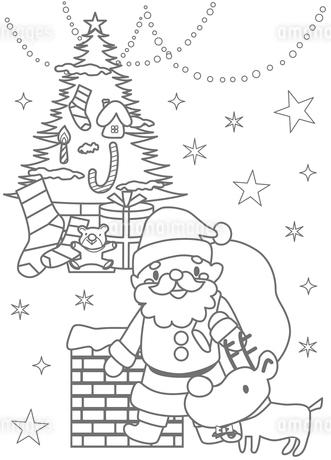 クリスマスのイラスト素材 [FYI03121248]