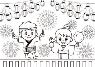 祭りのイラスト素材 [FYI03121310]