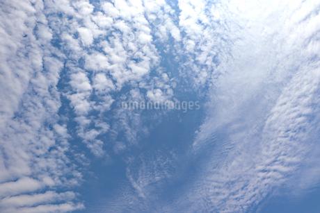 白い雲の写真素材 [FYI03121400]