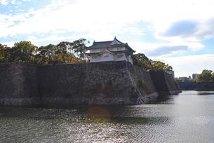 大阪城西の丸・乾櫓の写真素材 [FYI03121594]