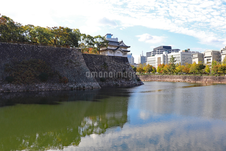 大阪城の隅櫓の写真素材 [FYI03121611]