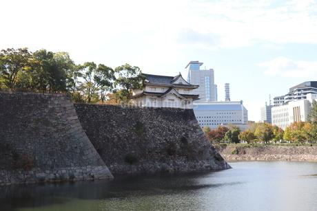 大阪城の櫓の写真素材 [FYI03121613]