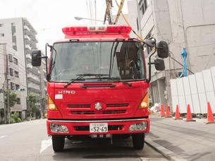 消防自動車の写真素材 [FYI03121920]