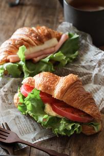 サンドイッチの写真素材 [FYI03123737]