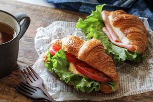 サンドイッチの写真素材 [FYI03123738]