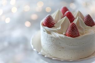 バースデーケーキの写真素材 [FYI03123761]
