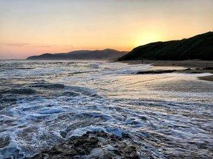 久美浜のビーチの写真素材 [FYI03123781]
