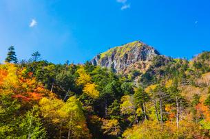 錦秋の金精山 奥日光 日光国立公園の写真素材 [FYI03123822]