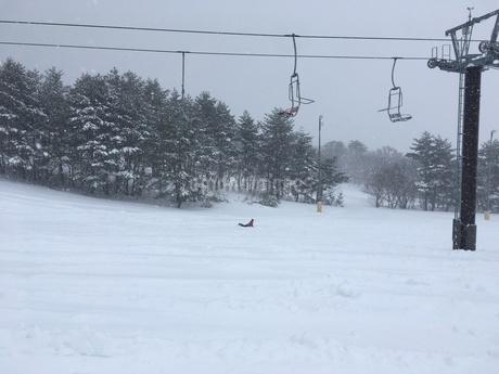 スキー場とリフトの写真素材 [FYI03123945]