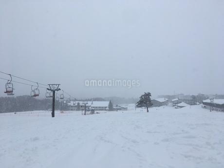 スキー場の写真素材 [FYI03123946]