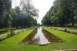 ヨーロッパ庭園の写真素材 [FYI03124076]