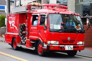 消防車の写真素材 [FYI03124202]
