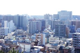 朝の街の写真素材 [FYI03124216]