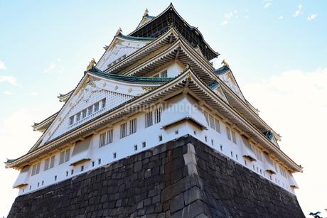 大阪城天守閣の写真素材 [FYI03124271]